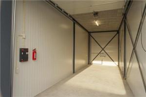 Impressie van de garageboxen in Amersfoort