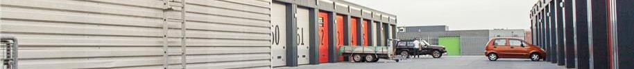 Preview complex met garageboxen zoals beschikbaar van Arcabox bijvoorbeeld te vinden in Amersfoort